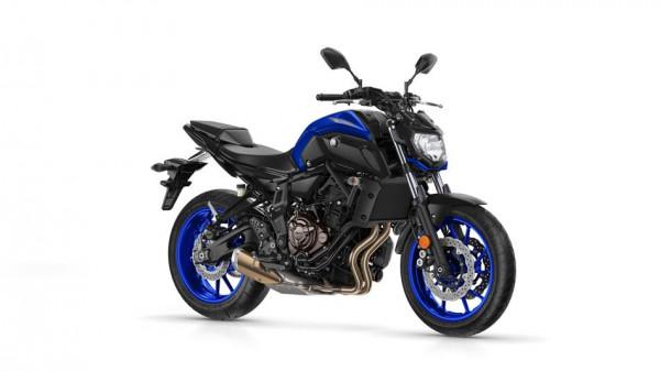 "Yamaha MT 07 ""2018""."