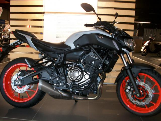 Yamaha MT 07, 2019.