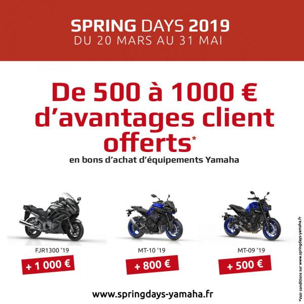 Yamaha Spring day